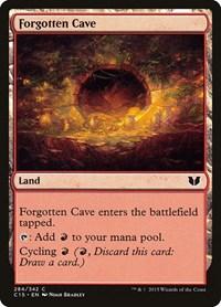Forgotten Cave, Magic, Commander 2015
