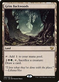 Grim Backwoods, Magic: The Gathering, Commander 2015
