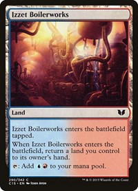 Izzet Boilerworks, Magic: The Gathering, Commander 2015