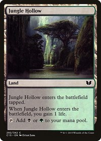 Jungle Hollow, Magic: The Gathering, Commander 2015