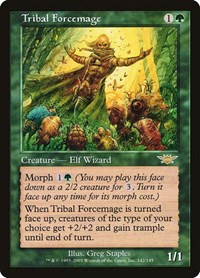 Tribal Forcemage, Magic: The Gathering, Legions
