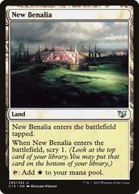 New Benalia, Magic, Commander 2015
