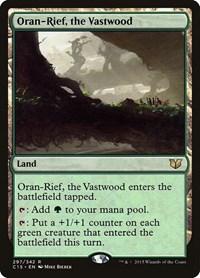 Oran-Rief, the Vastwood, Magic, Commander 2015