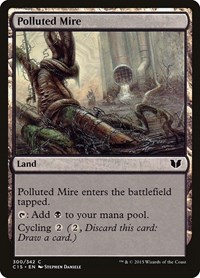 Polluted Mire, Magic: The Gathering, Commander 2015