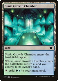 Simic Growth Chamber, Magic: The Gathering, Commander 2015