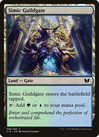 Simic Guildgate, Magic: The Gathering, Commander 2015