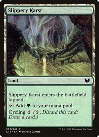 Slippery Karst, Magic, Commander 2015