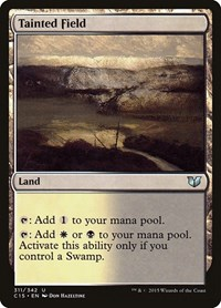 Tainted Field, Magic: The Gathering, Commander 2015