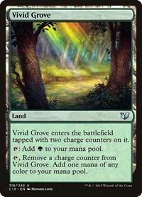 Vivid Grove, Magic: The Gathering, Commander 2015
