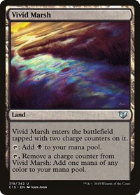 Vivid Marsh, Magic: The Gathering, Commander 2015