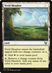 Vivid Meadow, Magic: The Gathering, Commander 2015