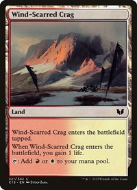 Wind-Scarred Crag, Magic: The Gathering, Commander 2015