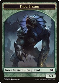 Frog Lizard // Germ Double-Sided Token, Magic: The Gathering, Commander 2015