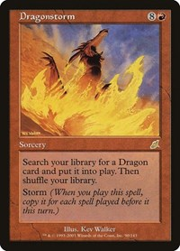 Dragonstorm, Magic: The Gathering, Scourge