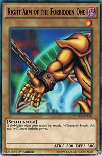 ygld-De the Gloria from King Right Hand Ultra Rare Game Brand NM Yu-Gi-Oh