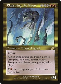 Bladewing the Risen, Magic: The Gathering, Scourge