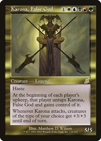 Karona, False God (Foil)