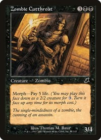 Zombie Cutthroat, Magic: The Gathering, Scourge