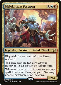Melek, Izzet Paragon, Magic, Commander 2015
