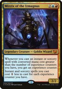 Mizzix of the Izmagnus (Oversized), Magic: The Gathering, Oversize Cards