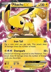 Pikachu EX - XY84, Pokemon, XY Promos