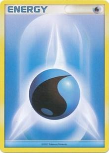 Water Energy (2007-2008 League Promo), Pokemon, League & Championship Cards