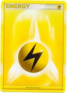 Lightning Energy (2007-2008 League Promo), Pokemon, League & Championship Cards