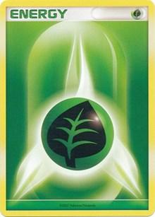 Grass Energy (2007-2008 League Promo), Pokemon, League & Championship Cards