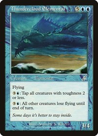 Thundercloud Elemental, Magic: The Gathering, Scourge