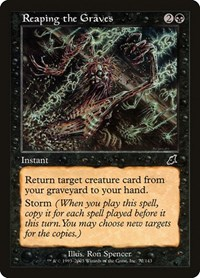 Reaping the Graves, Magic: The Gathering, Scourge