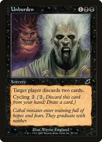 Unburden, Magic: The Gathering, Scourge