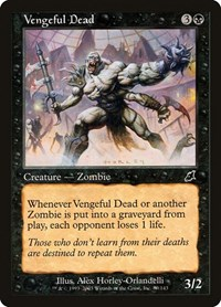 Vengeful Dead, Magic: The Gathering, Scourge