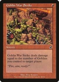Goblin War Strike, Magic, Scourge