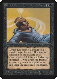 Drain Life, Magic, Alpha Edition