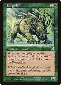 Kurgadon, Magic: The Gathering, Scourge
