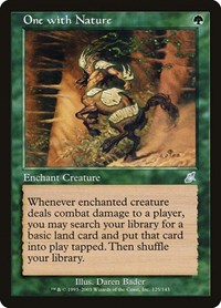 One with Nature (Foil)