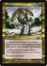 Sliver Overlord, Magic: The Gathering, Scourge