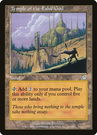Temple of the False God (Foil)
