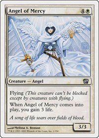 Angel of Mercy, Magic: The Gathering, 8th Edition