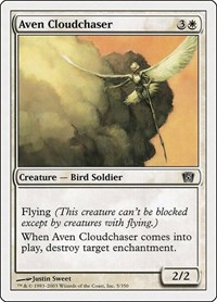 Aven Cloudchaser, Magic: The Gathering, 8th Edition