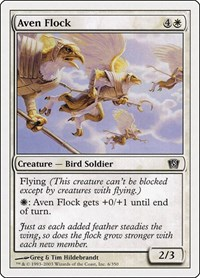 Aven Flock, Magic: The Gathering, 8th Edition