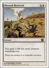 Blessed Reversal, Magic: The Gathering, 8th Edition