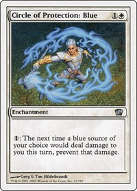 Circle of Protection: Blue, Magic: The Gathering, 8th Edition