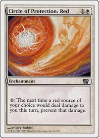 Circle of Protection: Red, Magic: The Gathering, 8th Edition