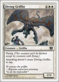 Diving Griffin, Magic: The Gathering, 8th Edition