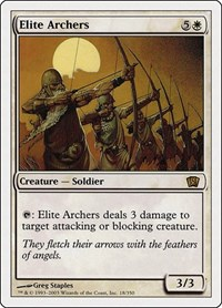 Elite Archers, Magic: The Gathering, 8th Edition