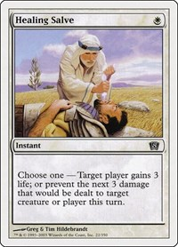 Healing Salve, Magic: The Gathering, 8th Edition