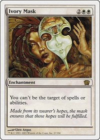 Ivory Mask, Magic: The Gathering, 8th Edition