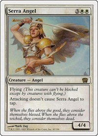 Serra Angel, Magic: The Gathering, 8th Edition