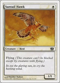 Suntail Hawk, Magic: The Gathering, 8th Edition